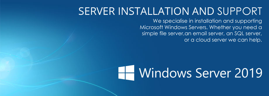Server installation and support